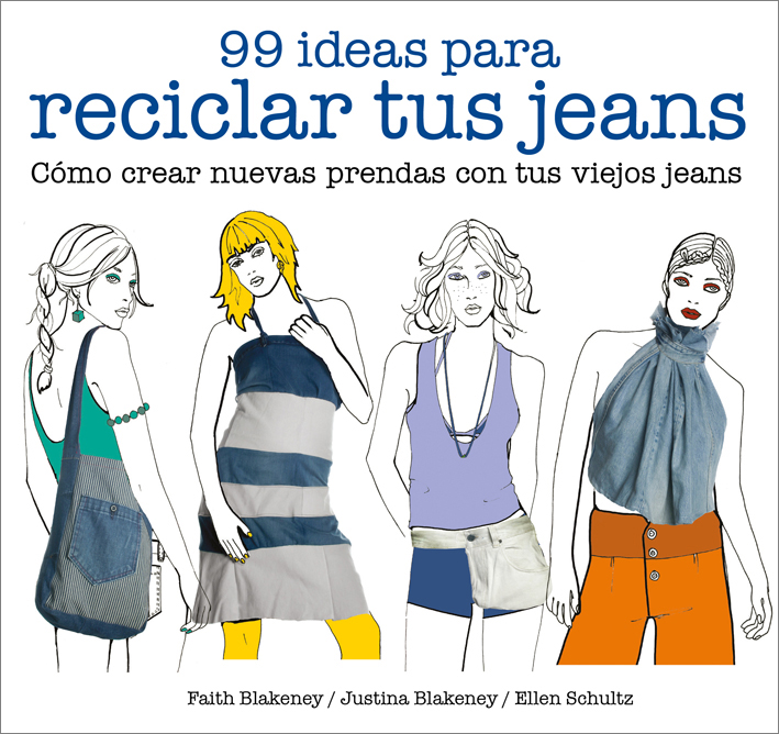 99 ideas para reciclar tus jeans - Blakeney Faith