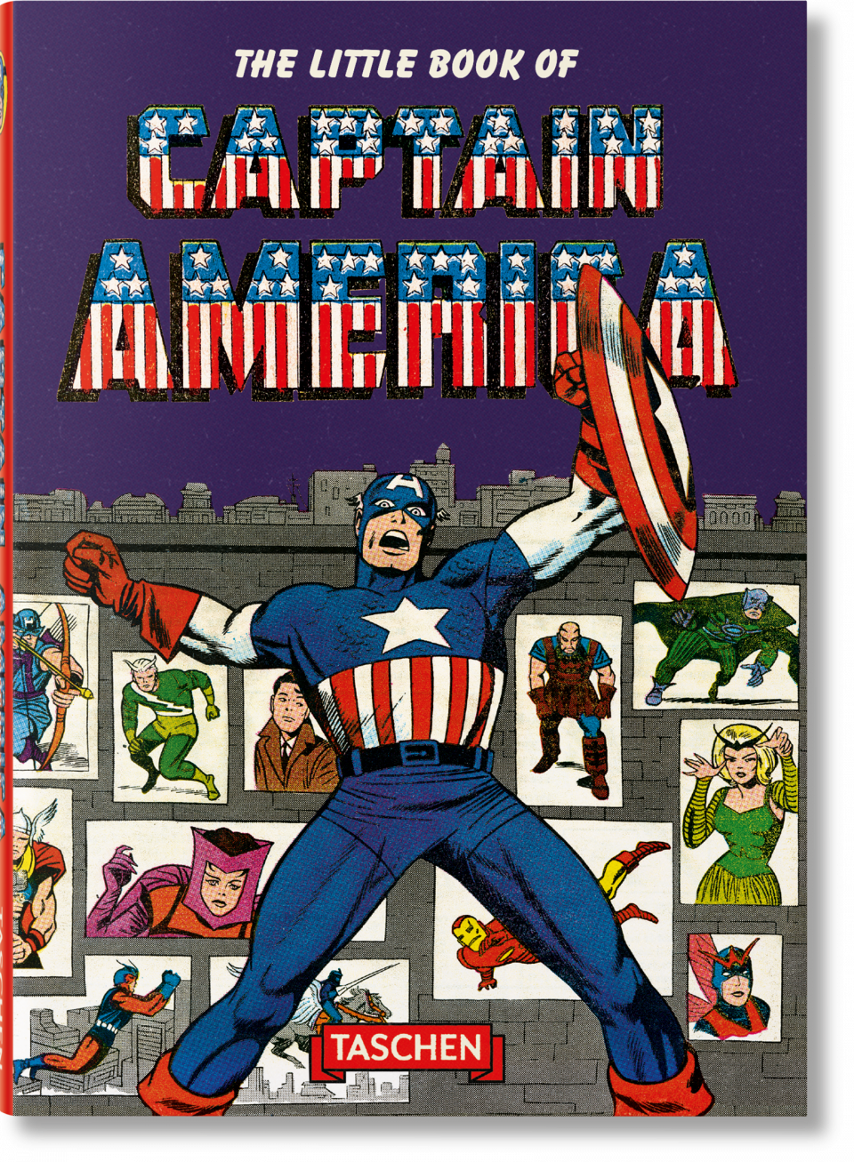 The Little Book of Captain America - Thomas Roy