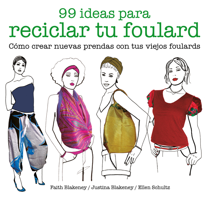 99 ideas para reciclar tu foulard - Blakeney Faith