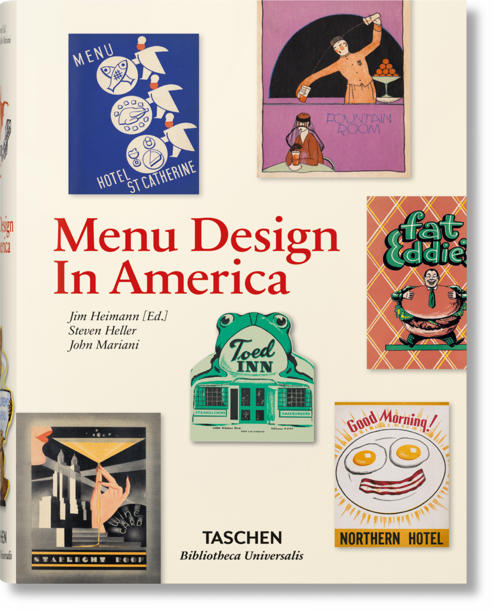 Menu Design in America - Heimann Jim