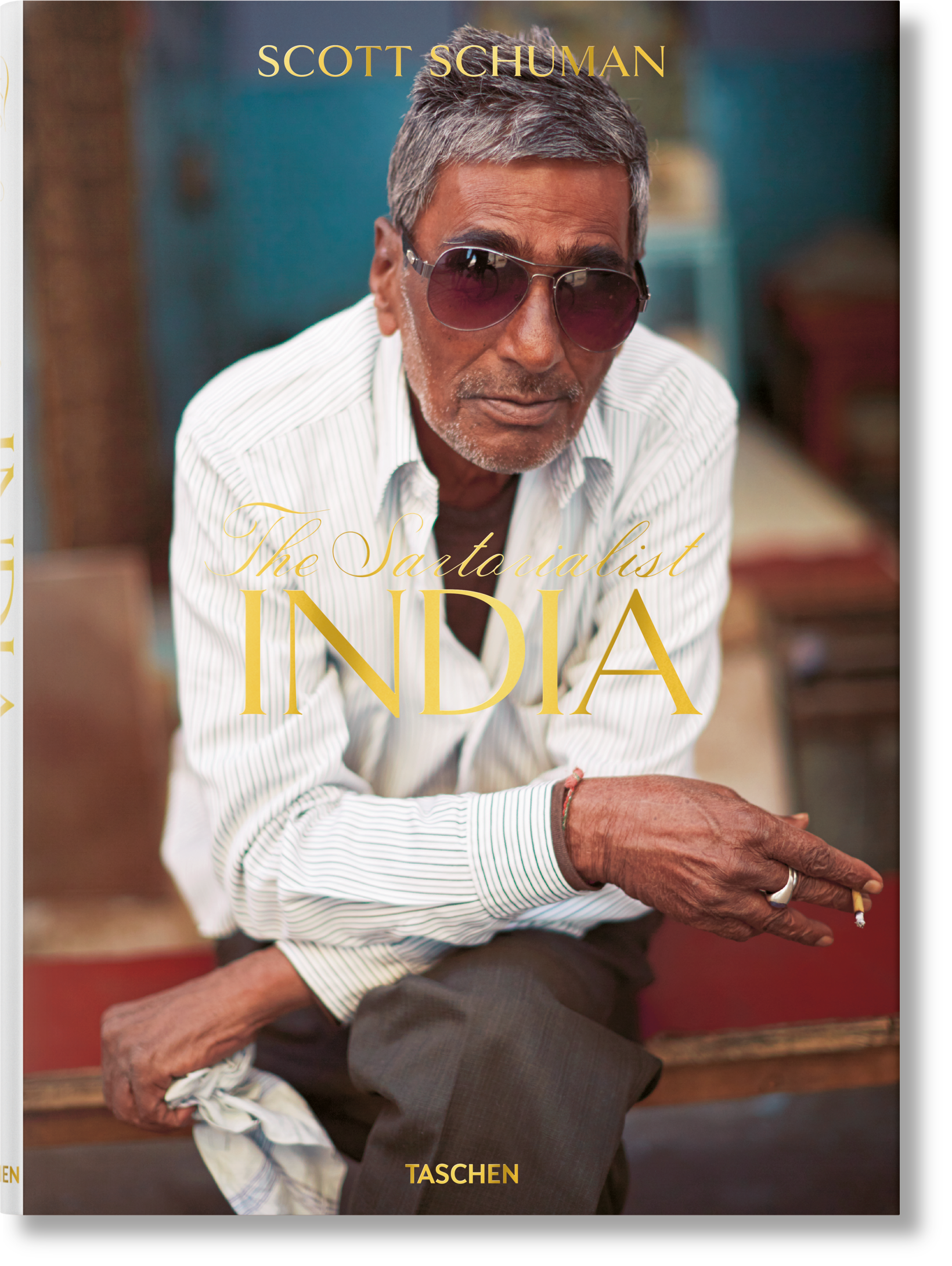 The Sartorialist. India - Golden Reuel
